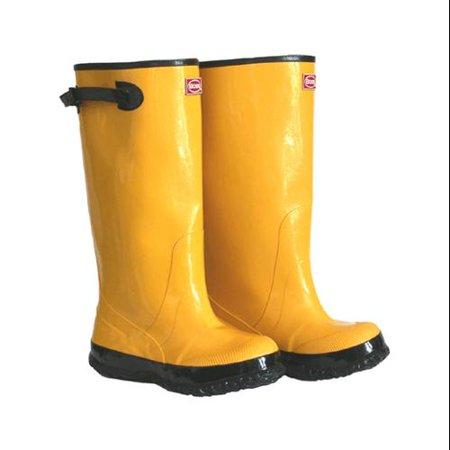 Boss Mfg 2KP448115 17-In. Waterproof Yellow Boots, Size 15 (Hugo Boss Shoes Boots)