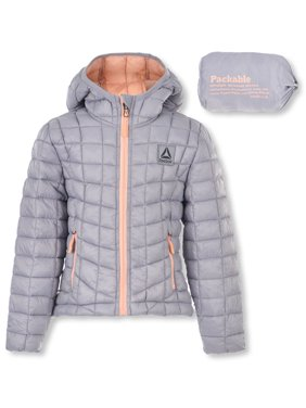 Reebok Girls' Insulated Hooded Jacket