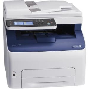 Xerox WorkCentre 6027/NI LED Multifunction Printer - Color - Plain Paper Print - Desktop - Copier/Fax/Printer/Scanner - 18 ppm Mono/18 ppm Color Print - 1200 x 2400 dpi Print - 18 cpm Mono/18 cpm
