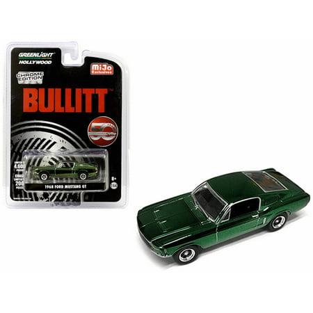 1968 Ford Mustang GT, Bullitt - Greenlight 51226 - 1/64 scale Diecast Model Toy Car
