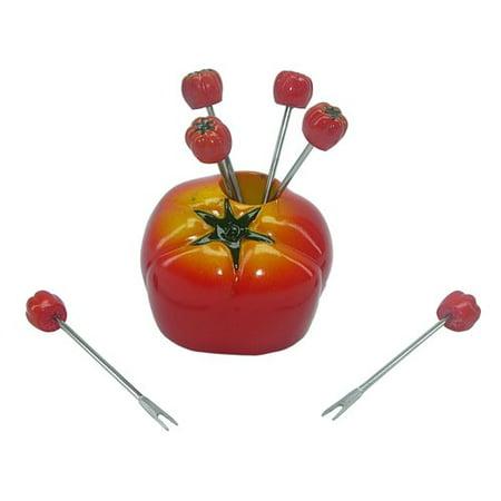 Winston Porter 7 Piece Roman Tomato Elegant Food Decoration Set