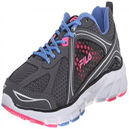 16b7f985865e3 Fila Women's Threshold 3 Running Shoe, Castlerock/Marina/Knock Out Pink,  9.5 M US