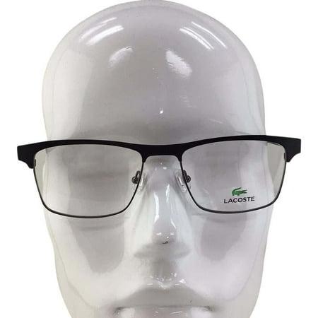 Lacoste L 2198 001 Matte Black Metal Eyeglasses