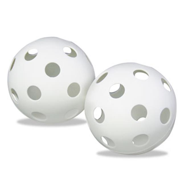 Plastic Baseballs, 9 in., White, 12 per set by GreatGames