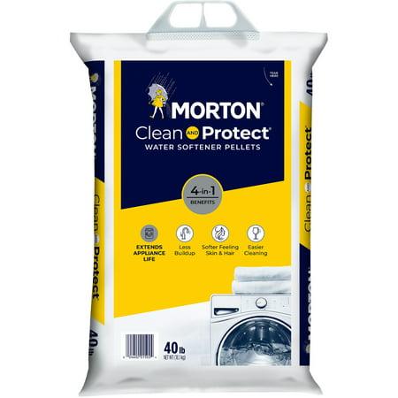 Morton® Clean and Protect® Water Softener Salt Pellets, 40 lb. Bag