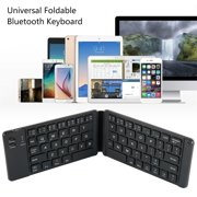 Universal Bluetooth Wireless Foldable Mini Keyboard USB Charging Keyboard Computer Mobile Phone Tablet Office