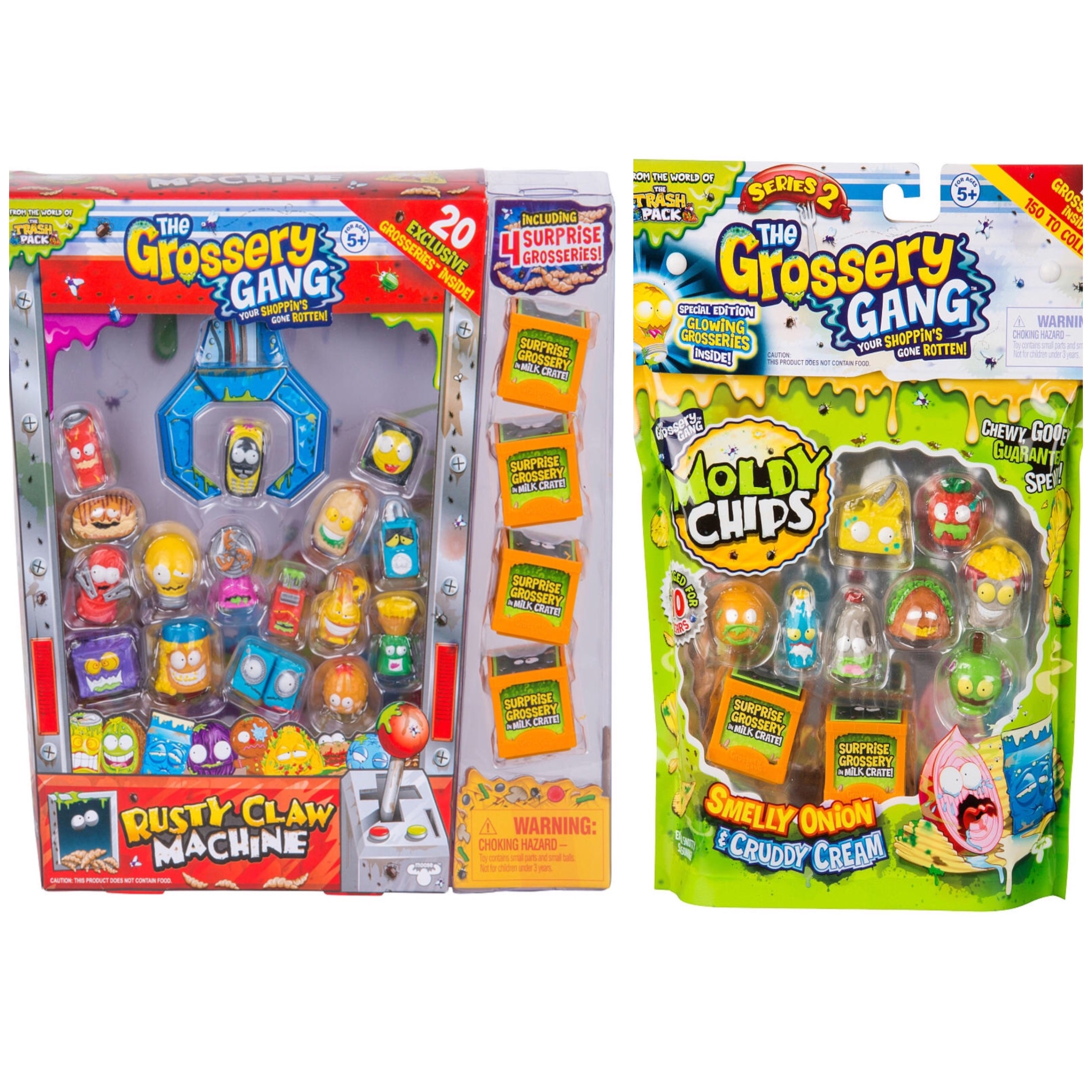 The Grossery Gang Bundle Season 2 Rusty Claw Machine Pack...