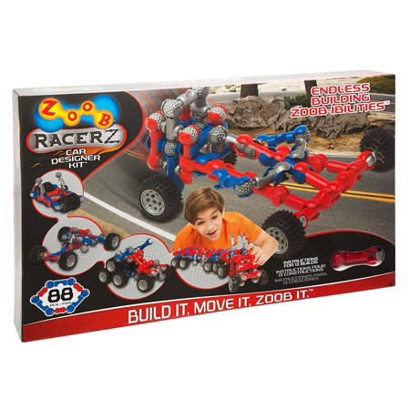 RacerZ Car Designer, Build 3 ZOOBMobile cars at once By ZOOB