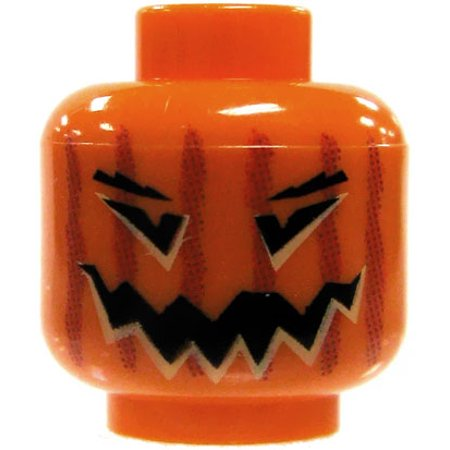 Leg Jack (LEGO Minifigure Parts Jack O Lantern Loose Head [Loose])