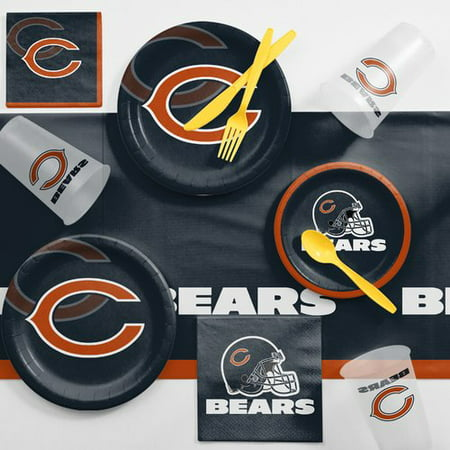 Chicago Bears Game Day Party Supplies Kit - Halloween Parties In Chicago