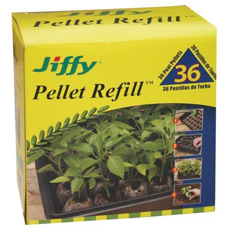 Jiffy 7 Pellets (Jiffy J3R36 36 MM Plant Pellet Refill, 36-Count)