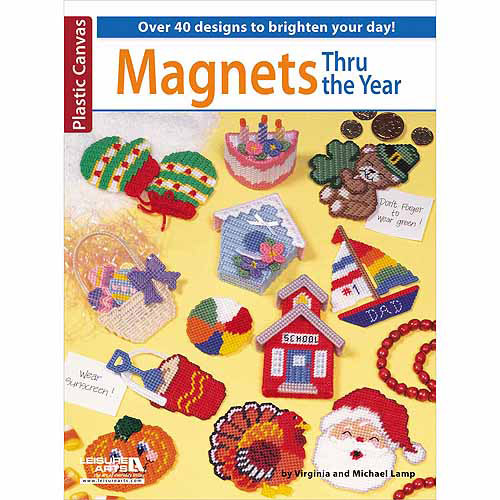 Leisure Arts-Magnets Thru The Year Multi-Colored