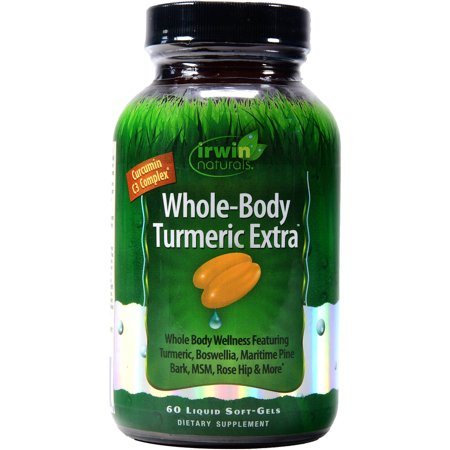 Irwin Naturals Whole-Body Turmeric Extra, 60 ct
