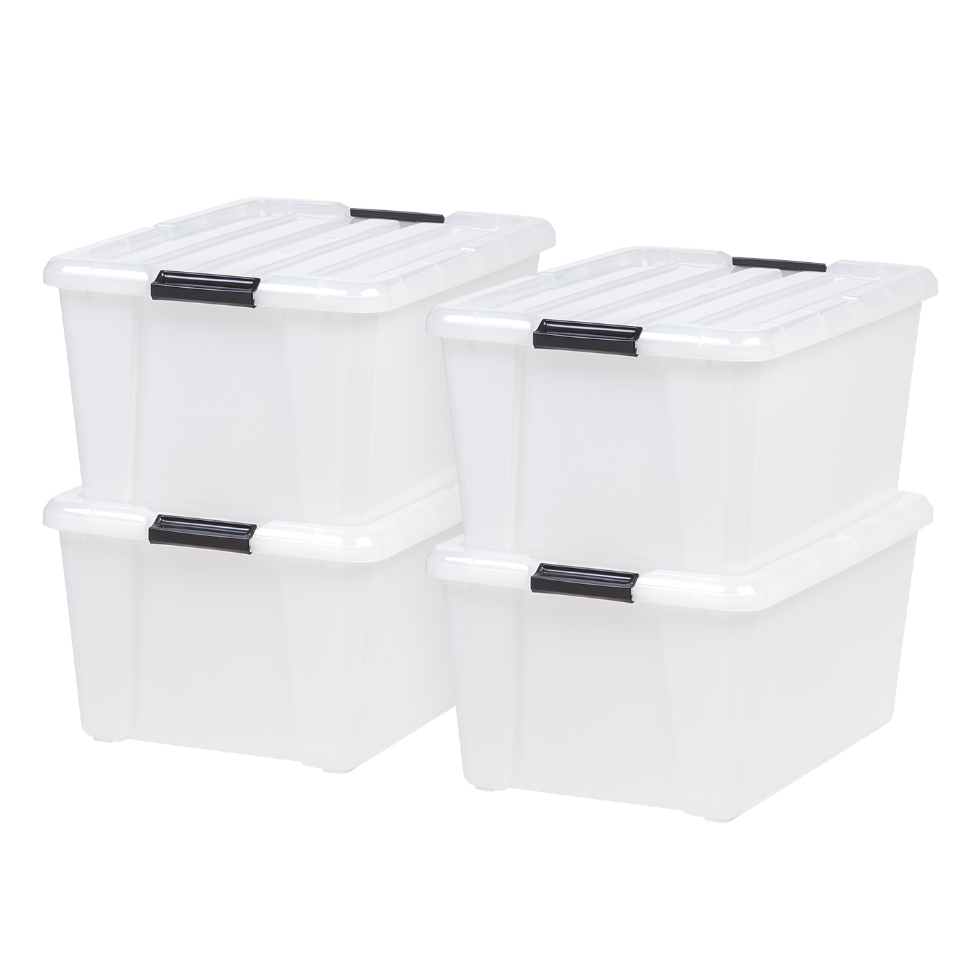 Storage Memory Card Gift Jewellery Boxes Set of 4 stacking Storage Boxes