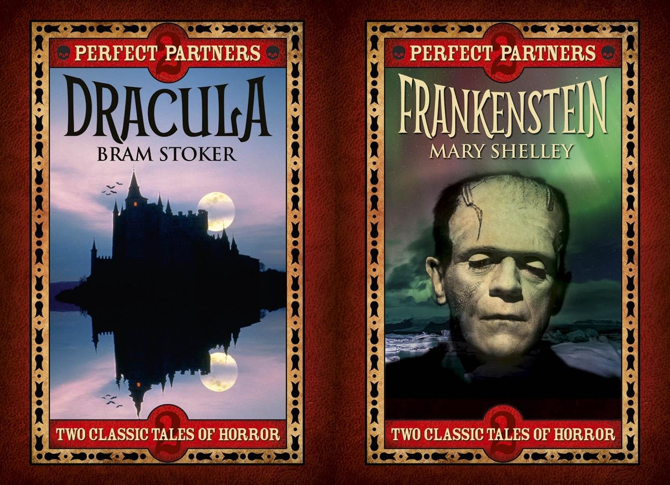 Dracula & Frankenstein : Slip-Case Edition by