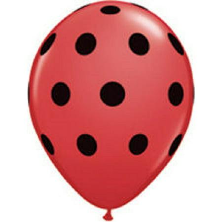 Red Polka Dot (6 Ladybug Print 11