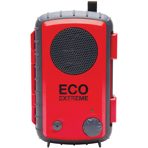 Ecoxgear ECO Extreme Waterproof and Rugged Speaker Case, Red