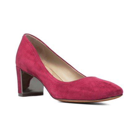 cd6e727c265 Donald J Pliner Womens Corin-d Suede Round Toe Classic Pumps - image 1 of  ...