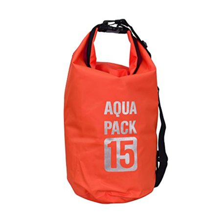 Peach Couture Waterproof Dry Pack Bag-Roll Top Dry Compression Sack Keeps Gear Dry for Kayaking, Beach, Rafting, Boating, Hiking, Camping and