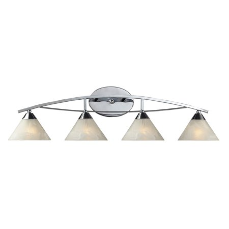- ELK Lighting Elysburg 4-Light Bathroom Vanity Light 17024/4 - 36W in.