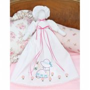 Stamped White Pillowcase Doll Kit, Sunbonnet Sue