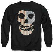 Misfits Fiend Flag Mens Crew Neck Sweatshirt