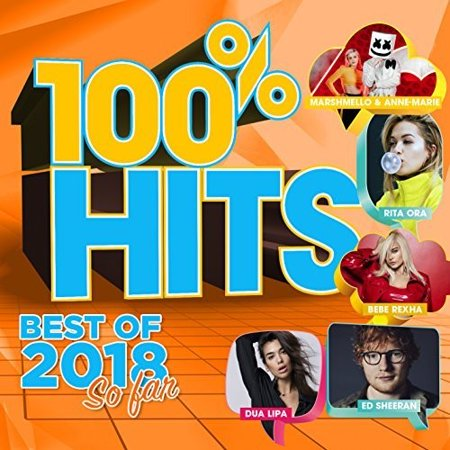 100% Hits: Best Of 2018 So Far / Various (CD)