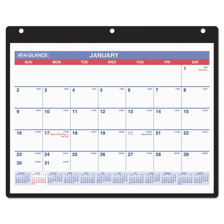 Monthly Desk Wall Calendar  11 X 8 1 4  White  2017