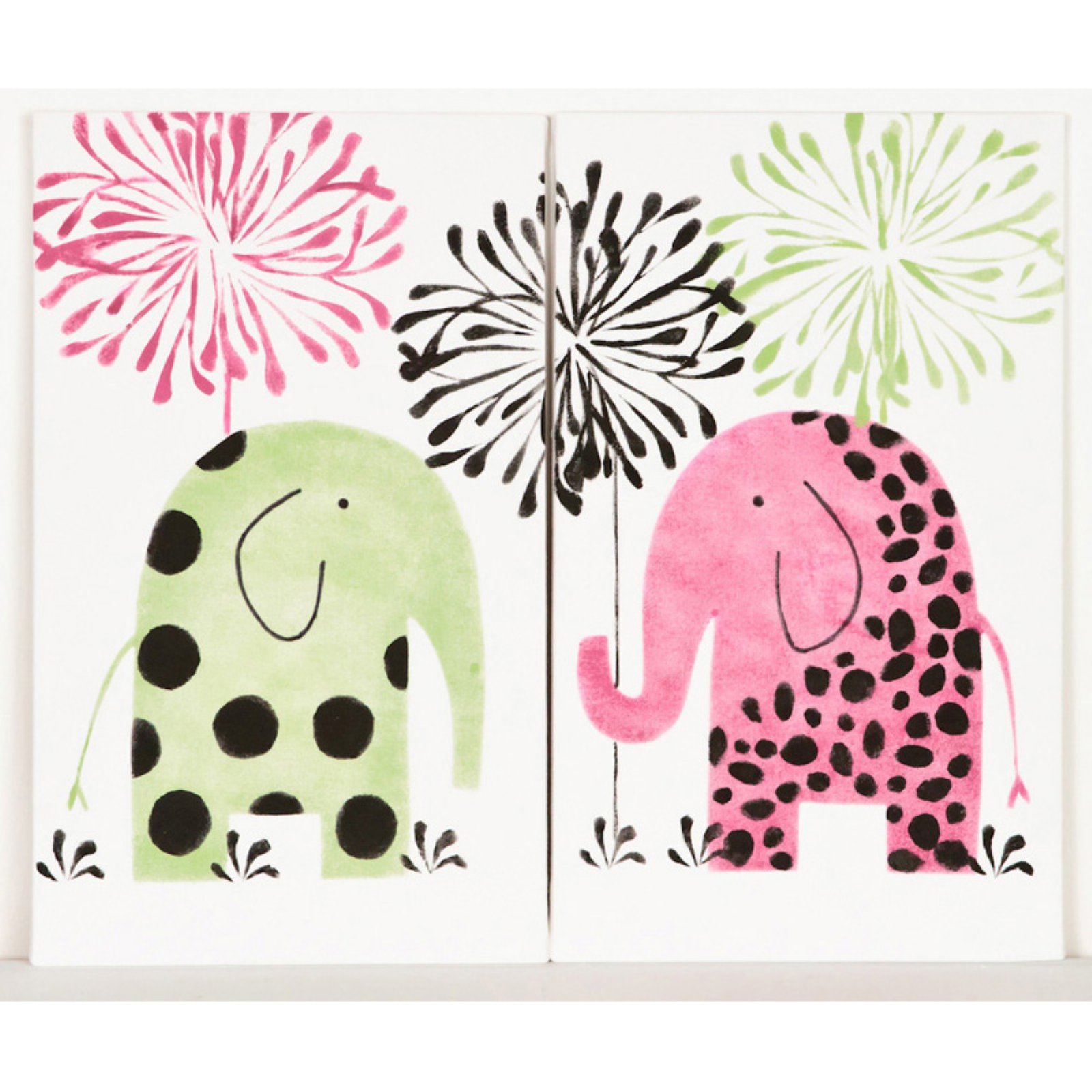 Cotton Tale Designs Hottsie Dottsie Wall Art - Set of 2
