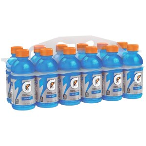 Gatorade Thirst Quencher Sports Drink, Cool Blue, 12 Fl Oz, 12 Count