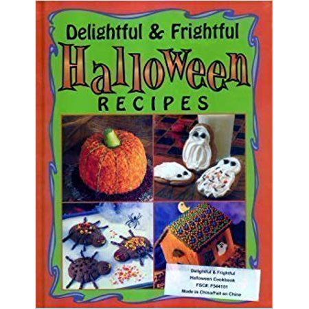 Delightful & Frightful Halloween Recipes Cookbook (Hardcover)](Halloween Cookbooks)