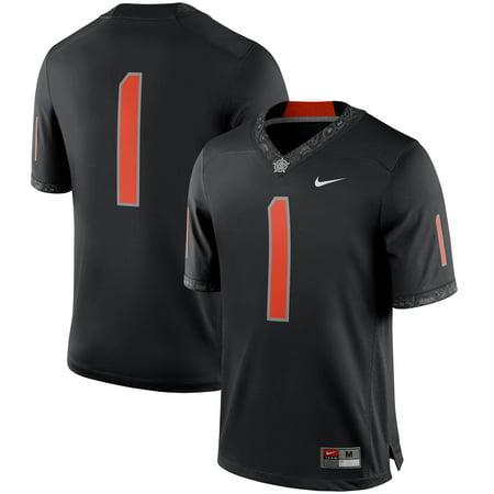 Oklahoma State Cycling Jersey (Oklahoma State Cowboys Nike Team Game Football Jersey - Black)