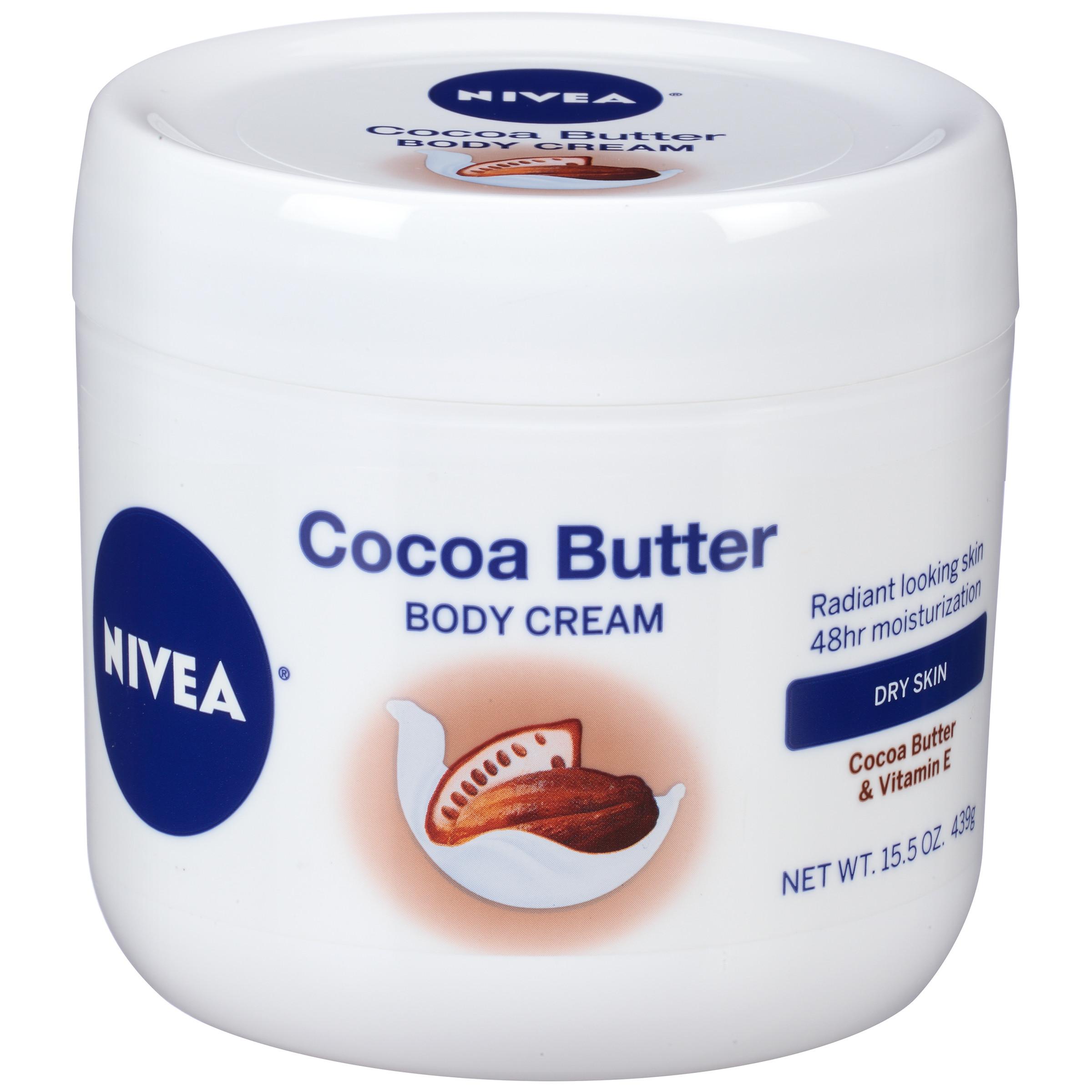 NIVEA Cocoa Butter Body Cream 15.5 oz. - Walmart.com