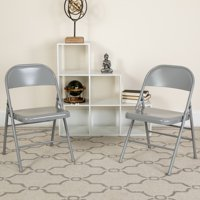 Lancaster Home Metal Folding Chair