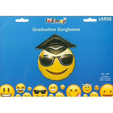 Everything Emoji Balloon Graduation - Emoji Graduation