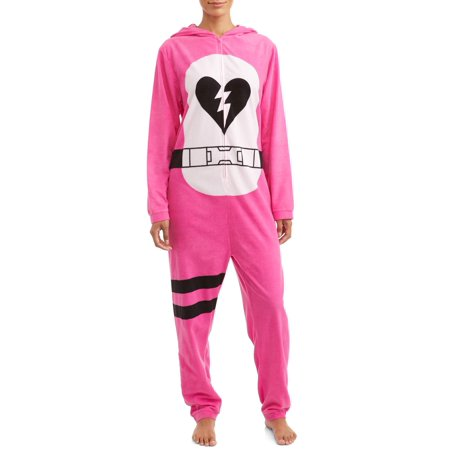 Fortnite Women's and Women's Plus Cuddle Bear Unionsuit