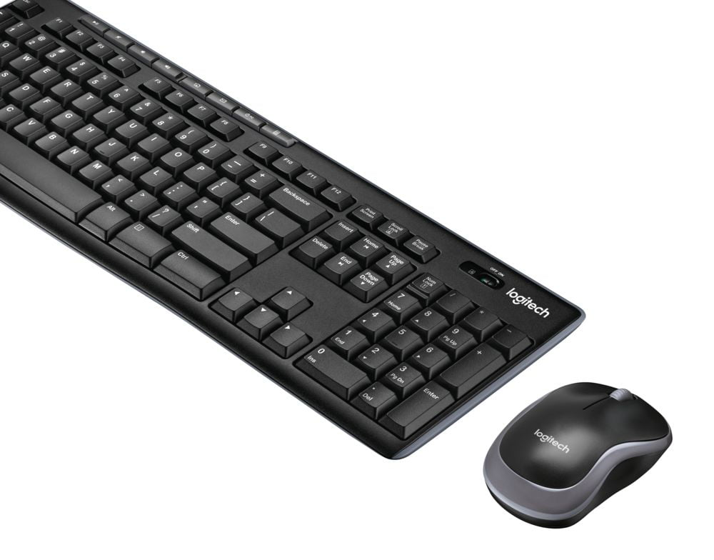 Logitech MK270 Wireless Keyboard Mouse Combo by Logitech