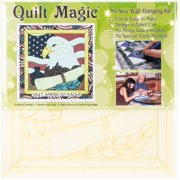 "American Eagle Quilt Magic Kit-12""X12"""