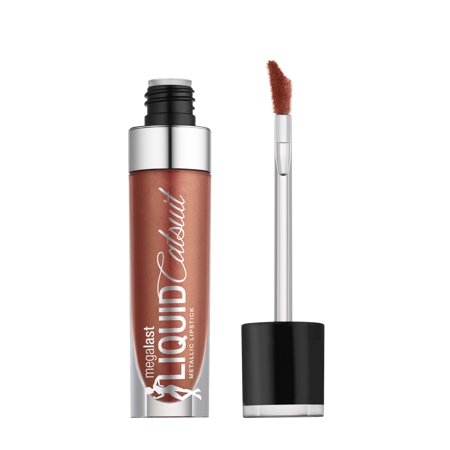 wet n wild MegaLast Liquid Catsuit Metallic Lipstick, Bali in Love