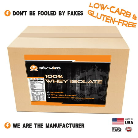 Bulk Whey Protein Isolate - Direct From Manufacturer