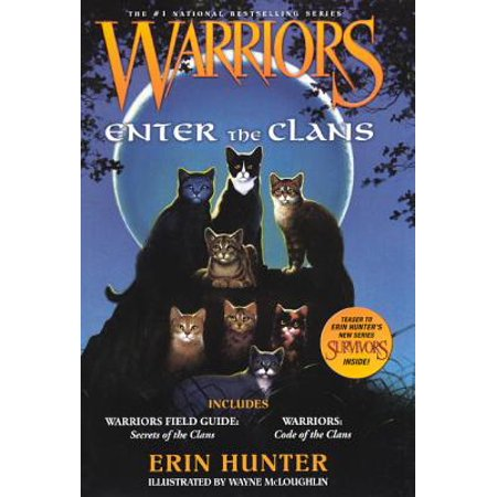 Warrior Clothing Promo Code (Warriors Enter the Clans : Warriors Field Guide/ Secrets of the Clans and Warriors: Code of the)