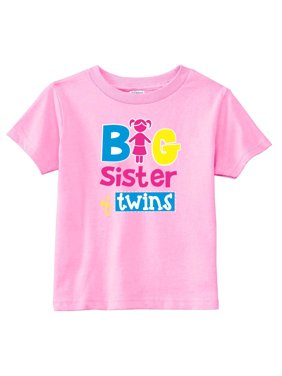cdd8604be2d Product Image Big Sister Of Twins Toddler Girls Shirt~2T