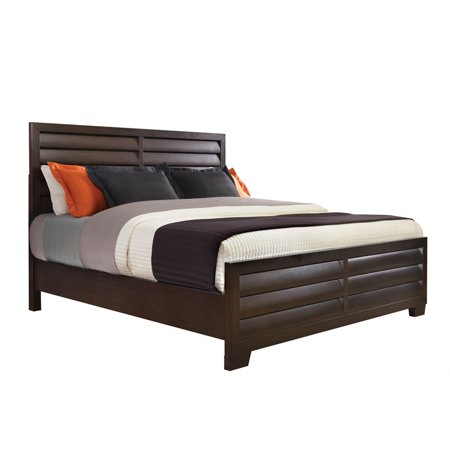 Pulaski Sable King California King Panel Headboard in Dark Brown
