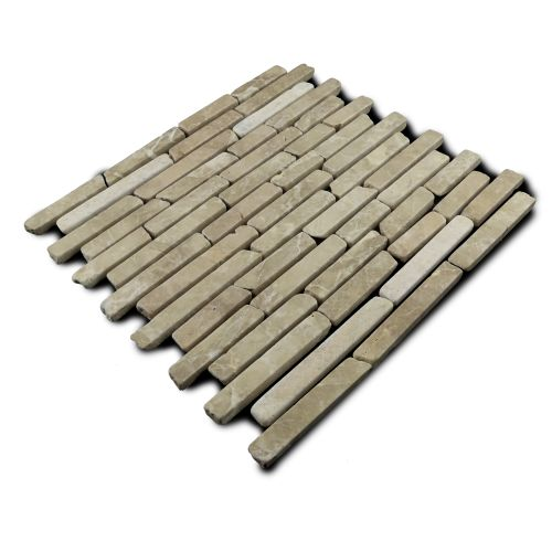 Miseno MT-L3RTN Strip Mosaic Natural Stone Tile (9.9 SF / Carton)