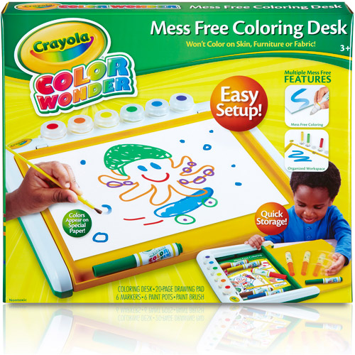 Color Wonder Mess Free Coloring Desk Walmart Com