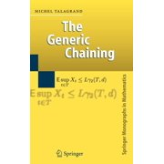 Springer Monographs in Mathematics: The Generic Chaining (Hardcover)
