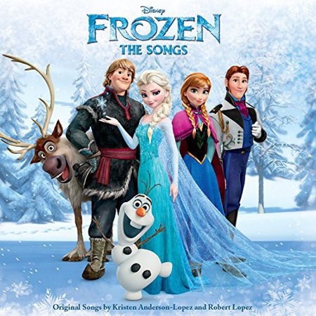 Disney Frozen: The Songs Soundtrack (CD) (The Best Halloween Songs)