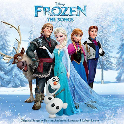 Disney Frozen: The Songs Soundtrack (CD)
