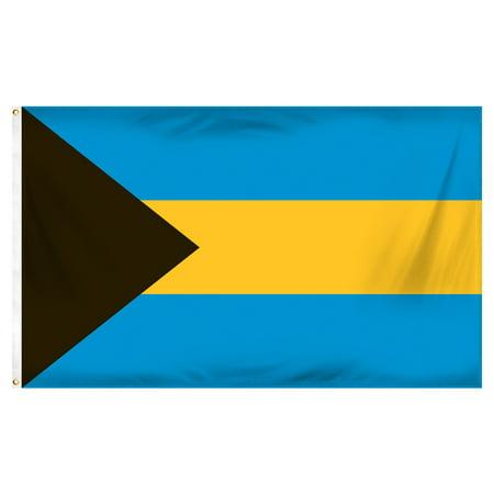 Bahamas 3ft x 5ft Printed Polyester Flag