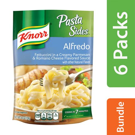 Knorr Creamy - (6 Pack) Knorr Alfredo Pasta Side Dish, 4.4 oz